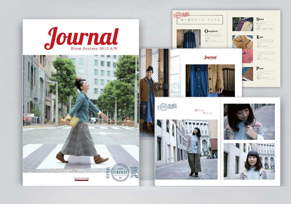 Room Journey 2013 AW カタログ